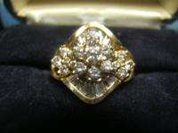I HAVE 4 BEAUTIFUL DIAMOND RINGS, ALL CERTIFIED WITH