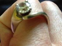 $3800 or obo   1ct brilliant round diamond in white