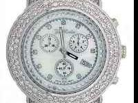 Joe Rodeo Diamond Watch 16.25carts IM NOT LOOKING TO