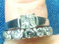 make / manufacturer: Kay Jewelers .75 ctw princess cut