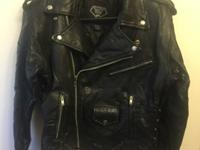 Diamond Plate Buffalo Motorcycle Jacket for sale. The