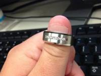 Just got married and my wife got me the wrong size ring
