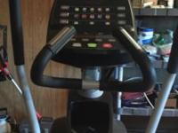 Like new Diamondback Elliptical. Used only a few times.
