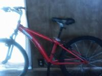 Hello..I'm selling a used orange diamond back bike for