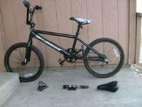 Black DiamondBack BMX. Smooth ride, minor scratches,