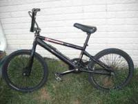 bmx bike, rids good, needs brakes fixed, text