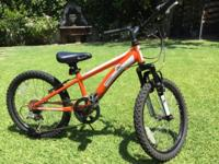 Diamondback Cobra 20, 6 gear kids mountain bike. 20""