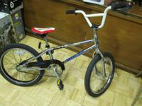 Diamondback Proton Boys Juvenille BMX Bike. Chrome