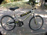 "THIS DIAMONDBACK 20"" BICYCLE IS IN EXCELLENT CONDITION."