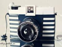 cute diana f + camera for sale, never been used. great