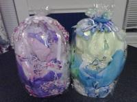 Hi, I have been making Diaper Cakes for Boys & Girls