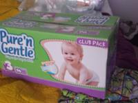 I have a lot of non reusable baby diapers available.
