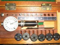 Precision measuring/test kit. $50.00 plus mailing cost.
