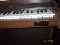 I have a Dicovery Organ/Piano in perfect condition with