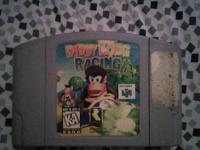 Diddy Kong racing for N64 8$. Also have Xbox, Xbox 360