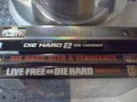 selling the die hard series of movies all 4 die hard ,