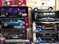 I am selling 10 diecast model cars, they are all in