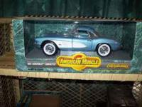 I HAVE ABOUT 20 DIECAST 1/18 AND 1/24 SCALE MODEL CARS