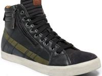 Lace up or zip up these standout sneaks from Diesel for