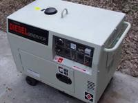 Diesel Generator 418cc / 10HP OHV 4 cycle air cooled
