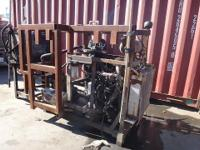 DIESEL POWERED RIG ENGINE 4 CYLD   NOTE: The price