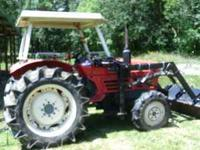 Perfect running 1987 Yanmar 32 hp. 4x4 tractor. With