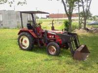 I HAVE A GREAT RUNNING BELARUS 250AS TRACTOR WITH FRONT