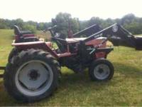 Nice trator, 30 hp diesel, with loader will consider a