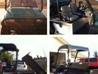 2006 Carryall 294 Utility/Golf Cart Like new