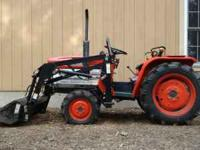 Diesel ZEN-NOH 1600D tractor with 44 hours. 3 cyl.