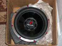 "New in box. Never used 12"" diameter. Give your car the"