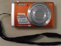 *** REDUCED *** BenQ 14MP Digital Camera - Clemson