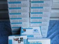 For sale are two lots of 20 new digital cameras in