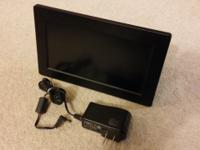 "Digital Photo Frame 8"" LCD by Venturer Gently used,"