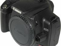 Canon Digital Rebel XTi 10.1 MP Digital SLR Camera and