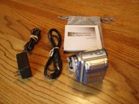 Mustek DV 5500 Digital Video Camera. Like brand-new,
