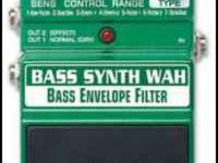 DigitTech Bass Synth Wah Bass Envelope Filter Pedal.