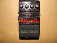 Digitech Death Metal guitar distortion pedal  $35 or