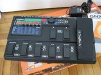 I am selling my Digitech GNX 3000 Guitar Workstation.