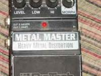 Digi Tech Metal Masher Guitar Effects Pedal. Negotiable