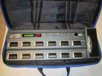 Digitech RP12 Effects Processor like new....makes your