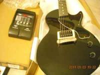 I have a Epiphone Les paul jr guitar New condition. A