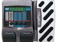 I am selling a Digitech RP250 Guitar Multi Effects