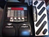 Like new Digitech RP255. Comes with power cord. These