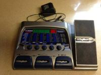 Made use of DigiTech RP300A guitar impacts w/built-in