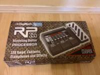 I have a Digitech RP355 Multi Effects Pedal for sale.
