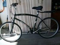 DIMOND BIKE MT BIKE 21 SPEED NEW SEAT AND CARRIER HAVE