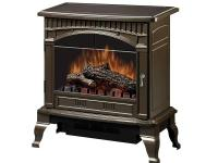 This Electric Stove provides the ambiance of a