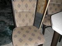 "TABLE & 4 CHAIRS BRAND NEW CONDITION.Table height 30"","