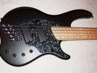 Dingwall Combustion 5-string bass with optional
